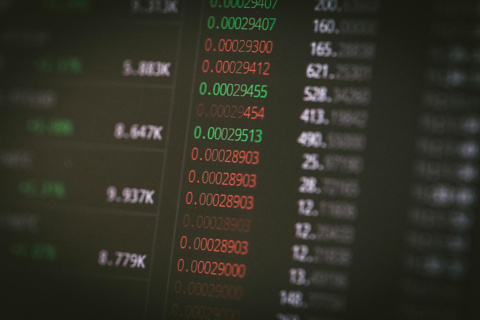 「板情報と値動き」の写真