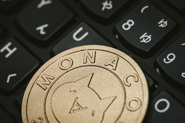 日本発の仮想通貨「モナコイン」の写真