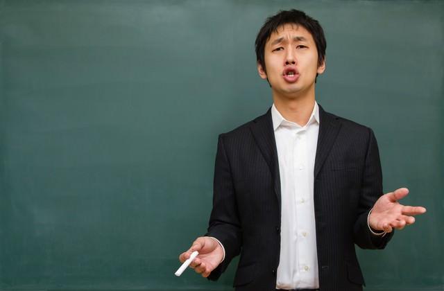 受験の今を語る塾講師の写真