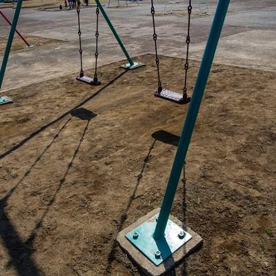 「公園とブランコ」の写真素材