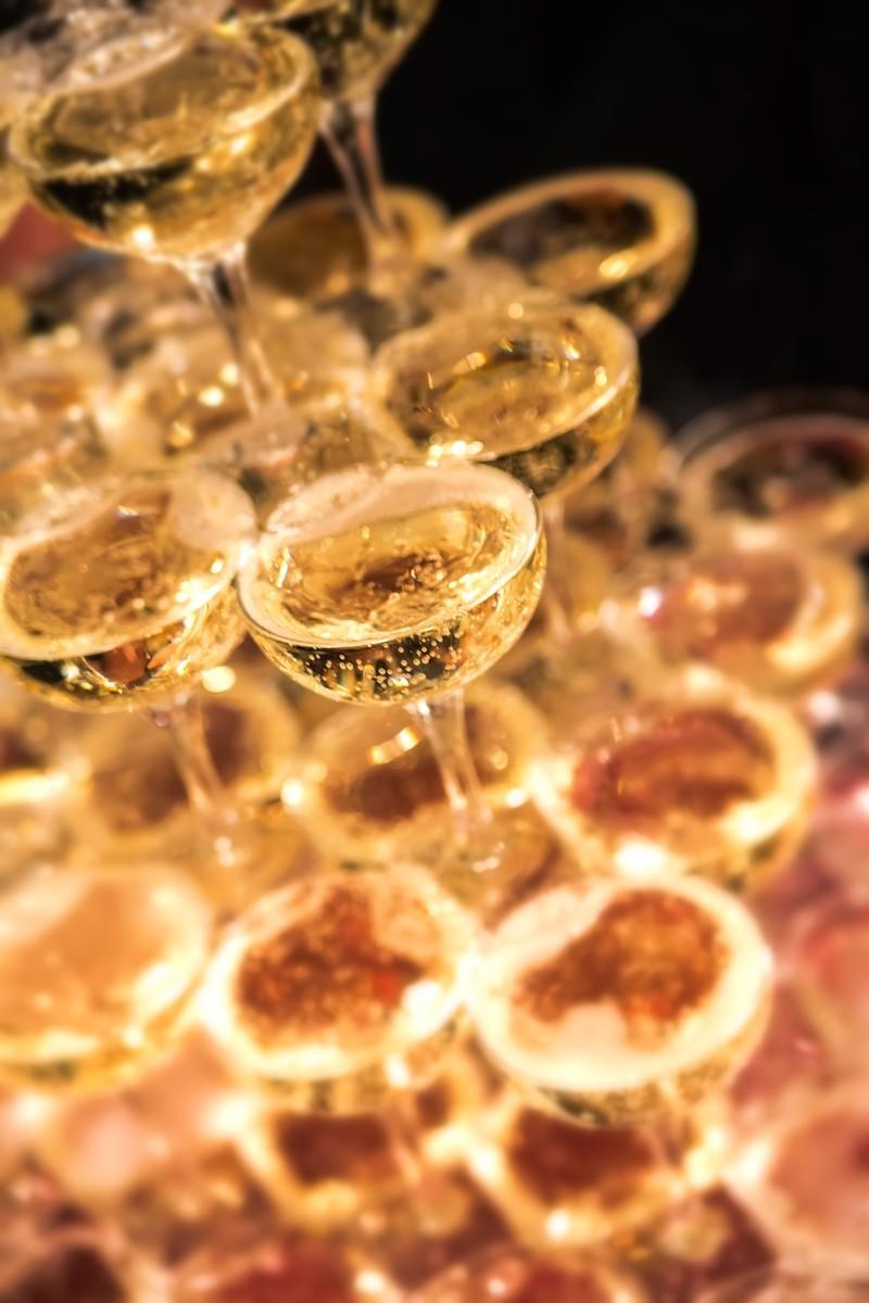 「シャンパンタワー」の写真