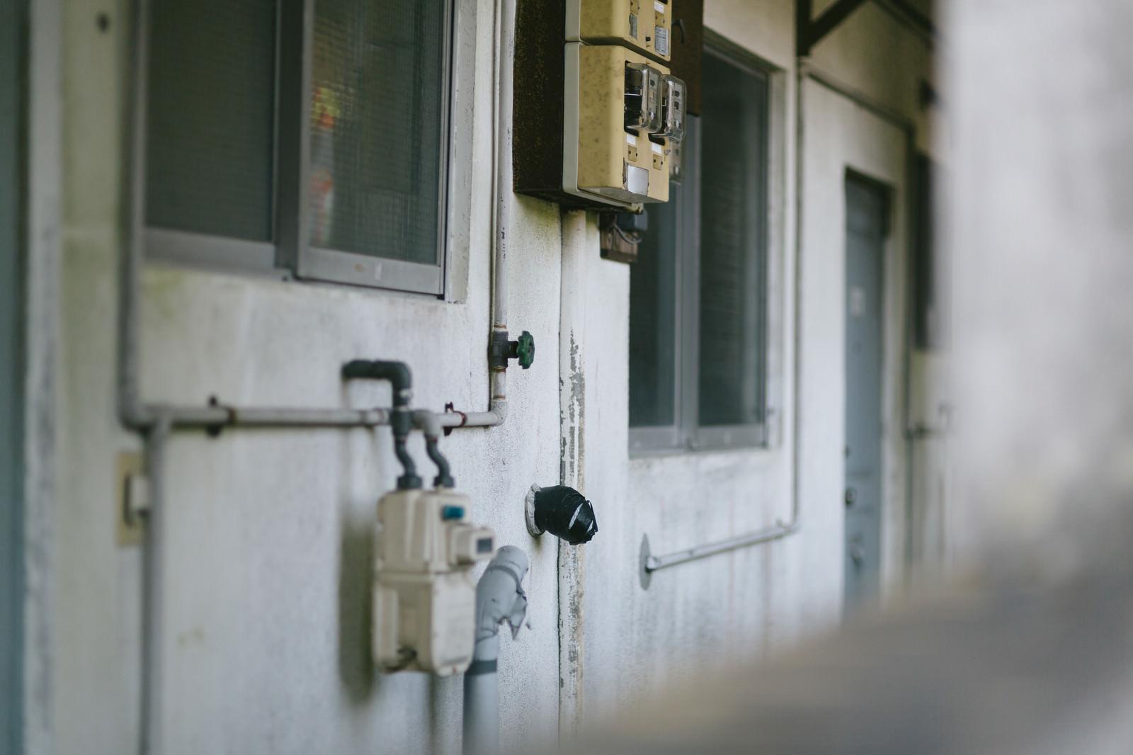 「住民がいなくなった社宅住民がいなくなった社宅」のフリー写真素材を拡大