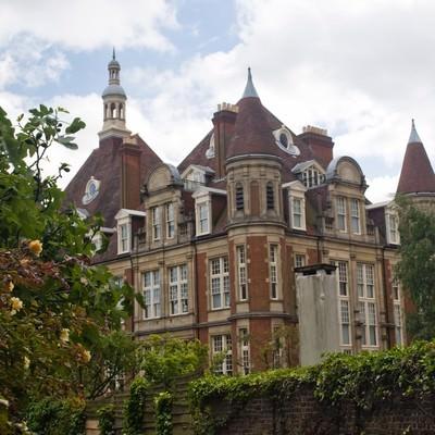 「ハムステッドの建物」の写真素材