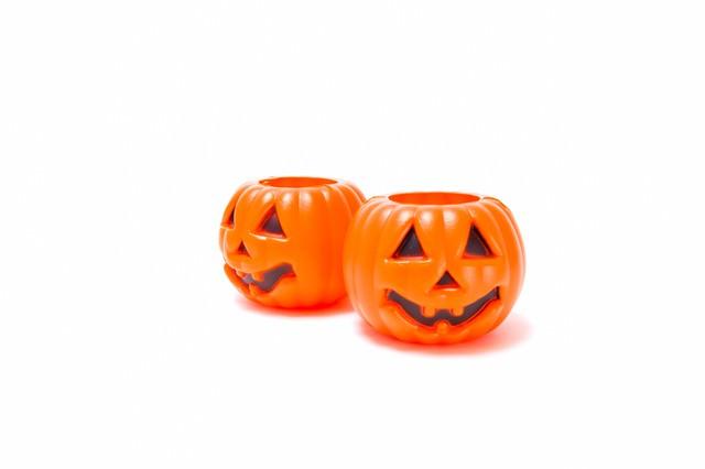 ハロウィンのかぼちゃの写真