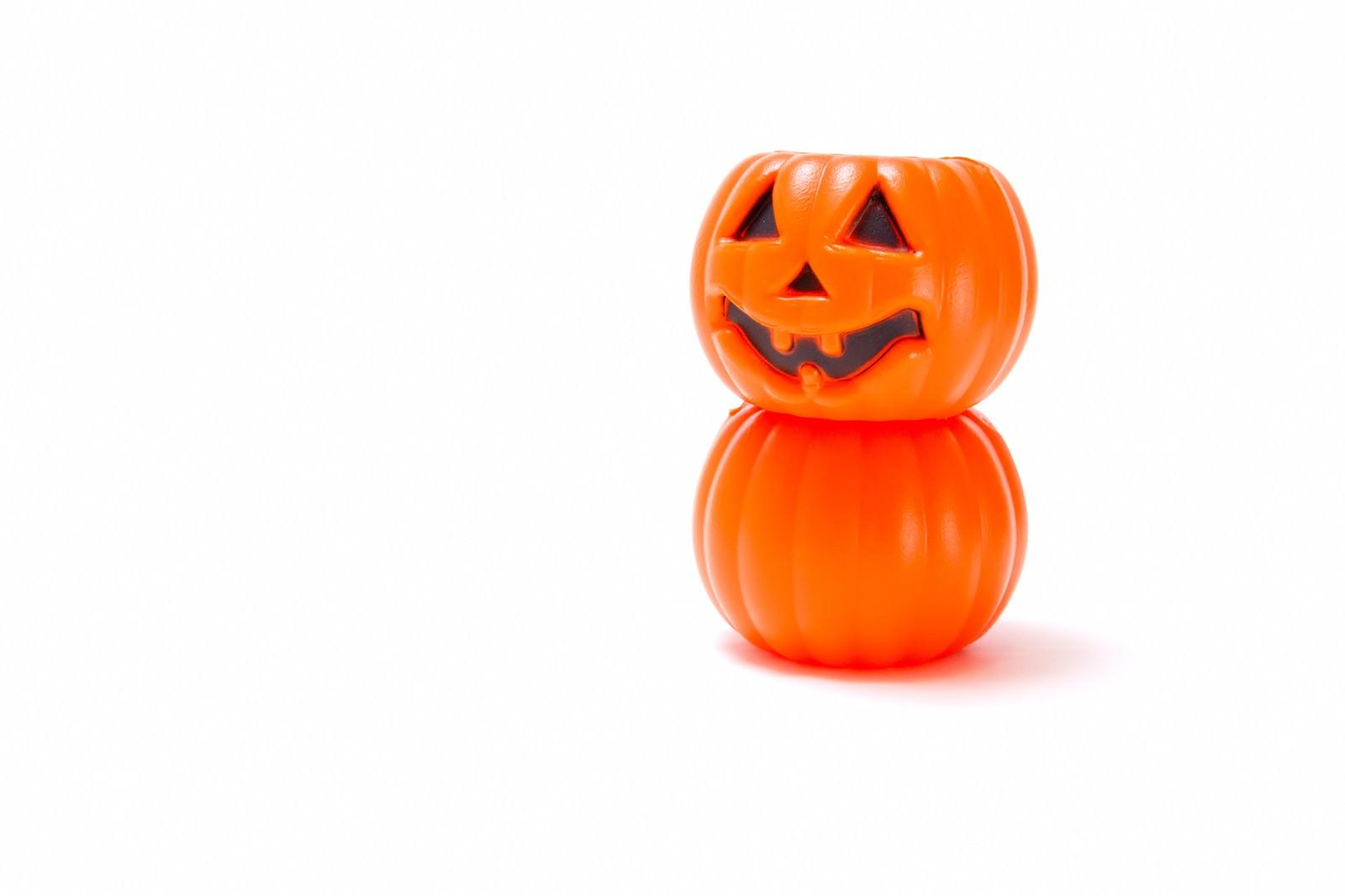 「だるまのようなかぼちゃ」の写真