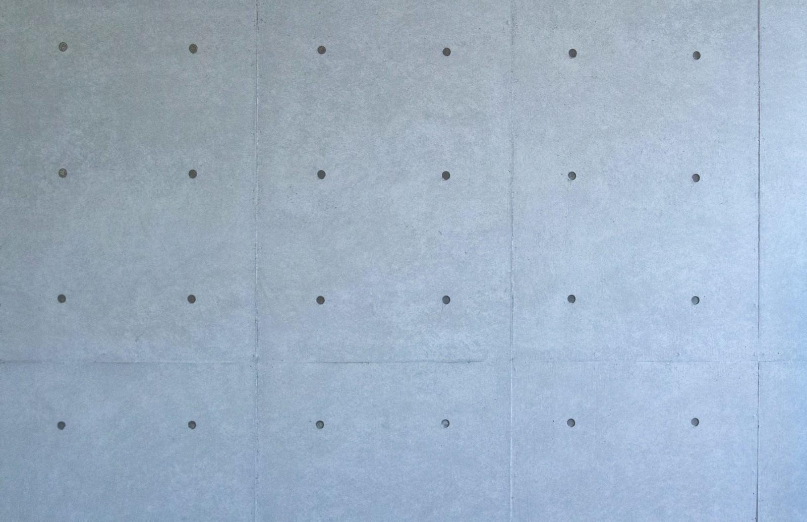 「打ちっぱなしのコンクリート」の写真