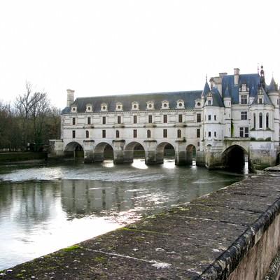 フランスのシュノンソー城の写真