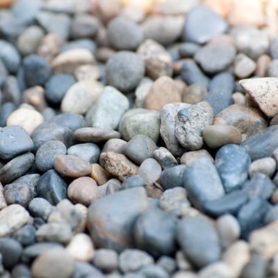 「河の小石」の写真素材