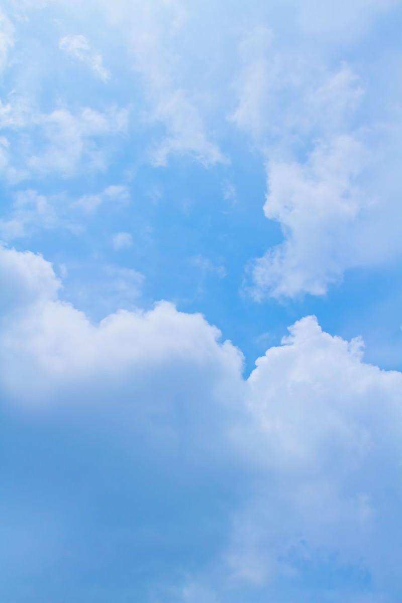 「雲と青空」の写真