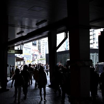 「渋谷の高架下」の写真素材