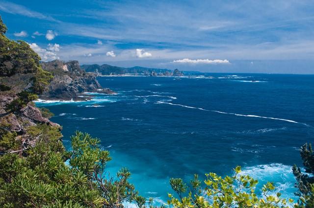 石廊崎からの景観の写真