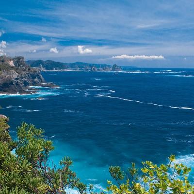 「石廊崎からの景観」の写真素材