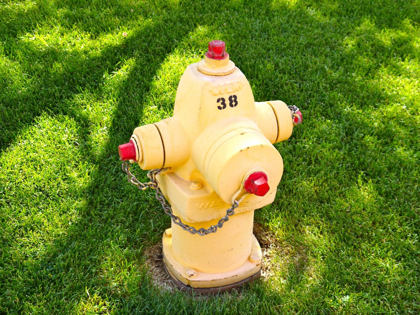 「アメリカ レイクパウエルにあった消火栓」の写真