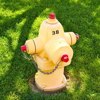 アメリカ レイクパウエルにあった消火栓の写真