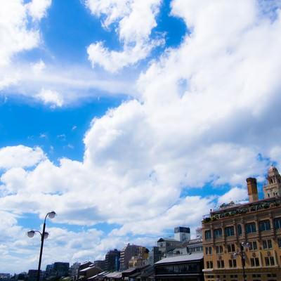 「京都の空」の写真素材