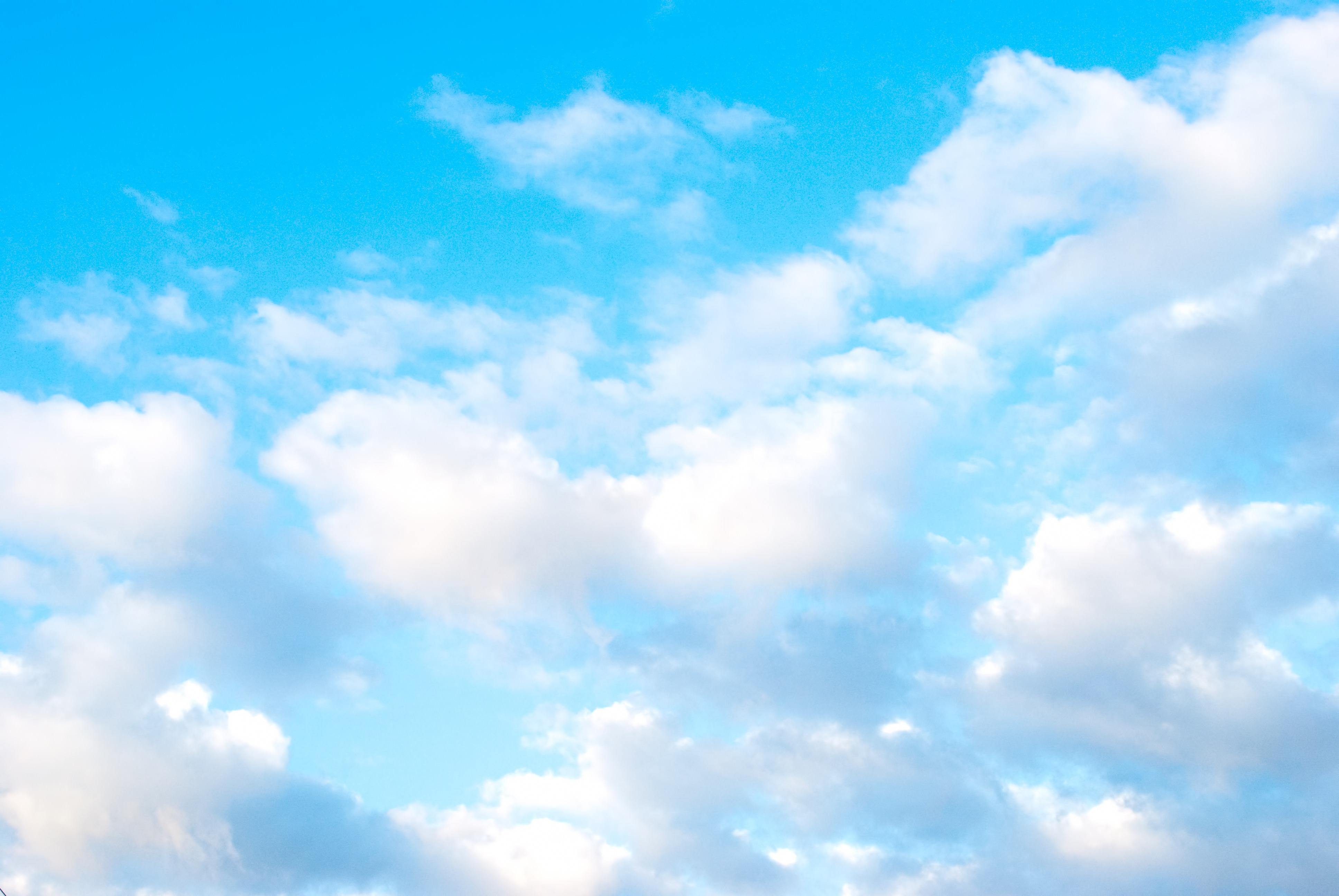 清々しい青空の写真(画像) フリー素材「ぱくたそ」