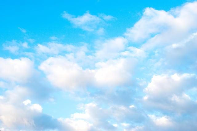 清々しい青空の写真