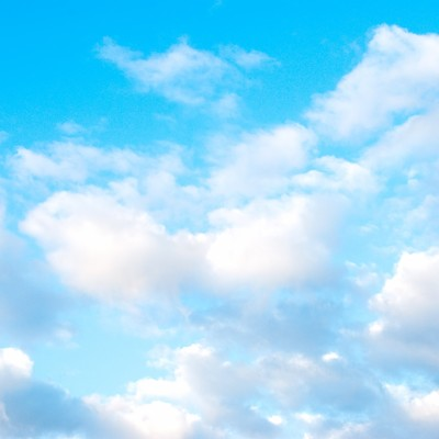 「清々しい青空」の写真素材