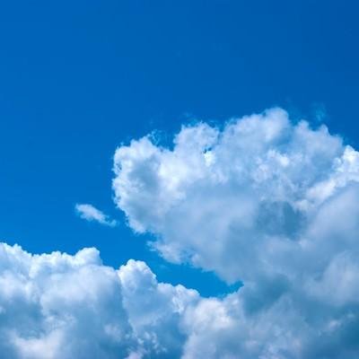 「青い空」の写真素材