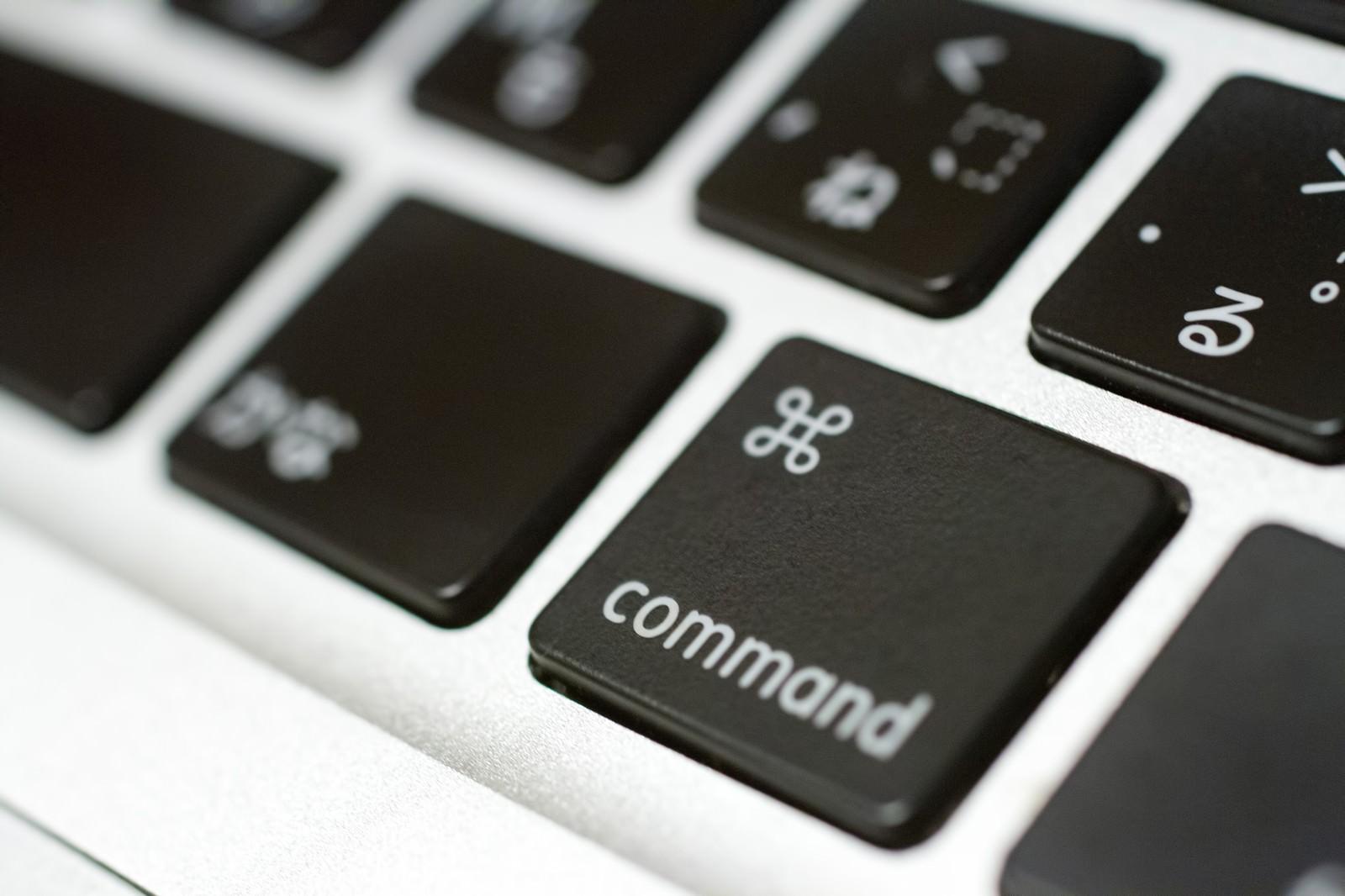 「commandキーcommandキー」のフリー写真素材を拡大