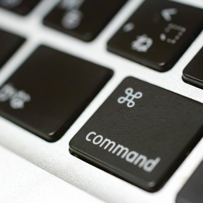 「commandキー」の写真素材