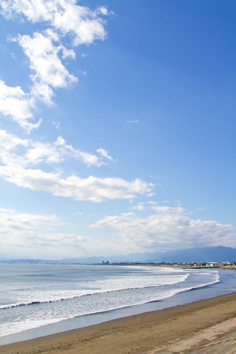 「青い空と海岸青い空と海岸」のフリー写真素材を拡大
