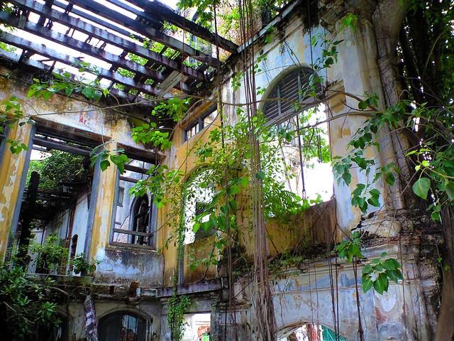 ジョージタウンの廃墟の写真