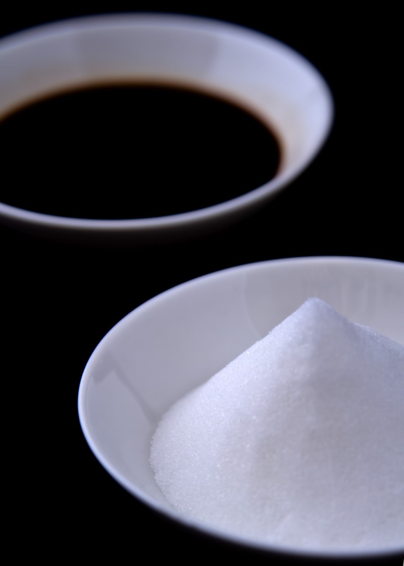 「盛塩としょうゆ」の写真