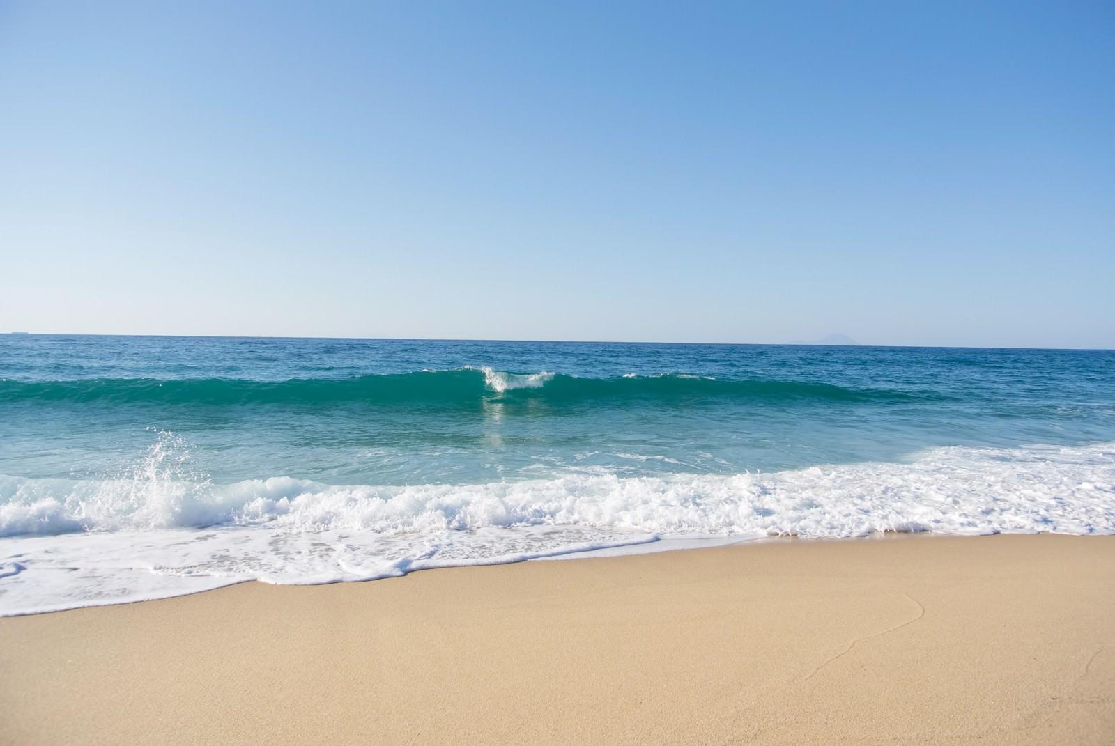 「屋久島の綺麗な海浜」の写真