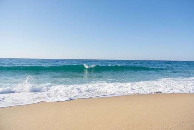 屋久島の綺麗な海浜の写真
