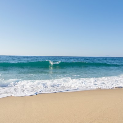 「屋久島の綺麗な海浜」の写真素材