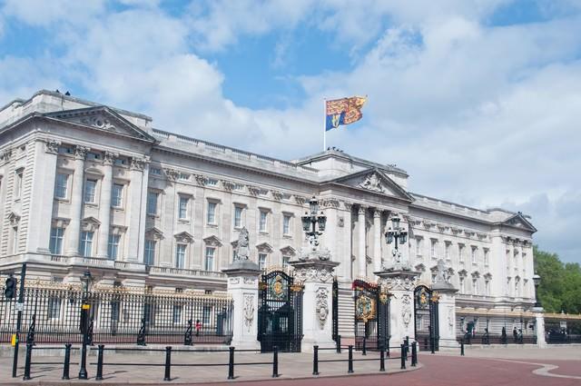 バッキンガム宮殿の写真