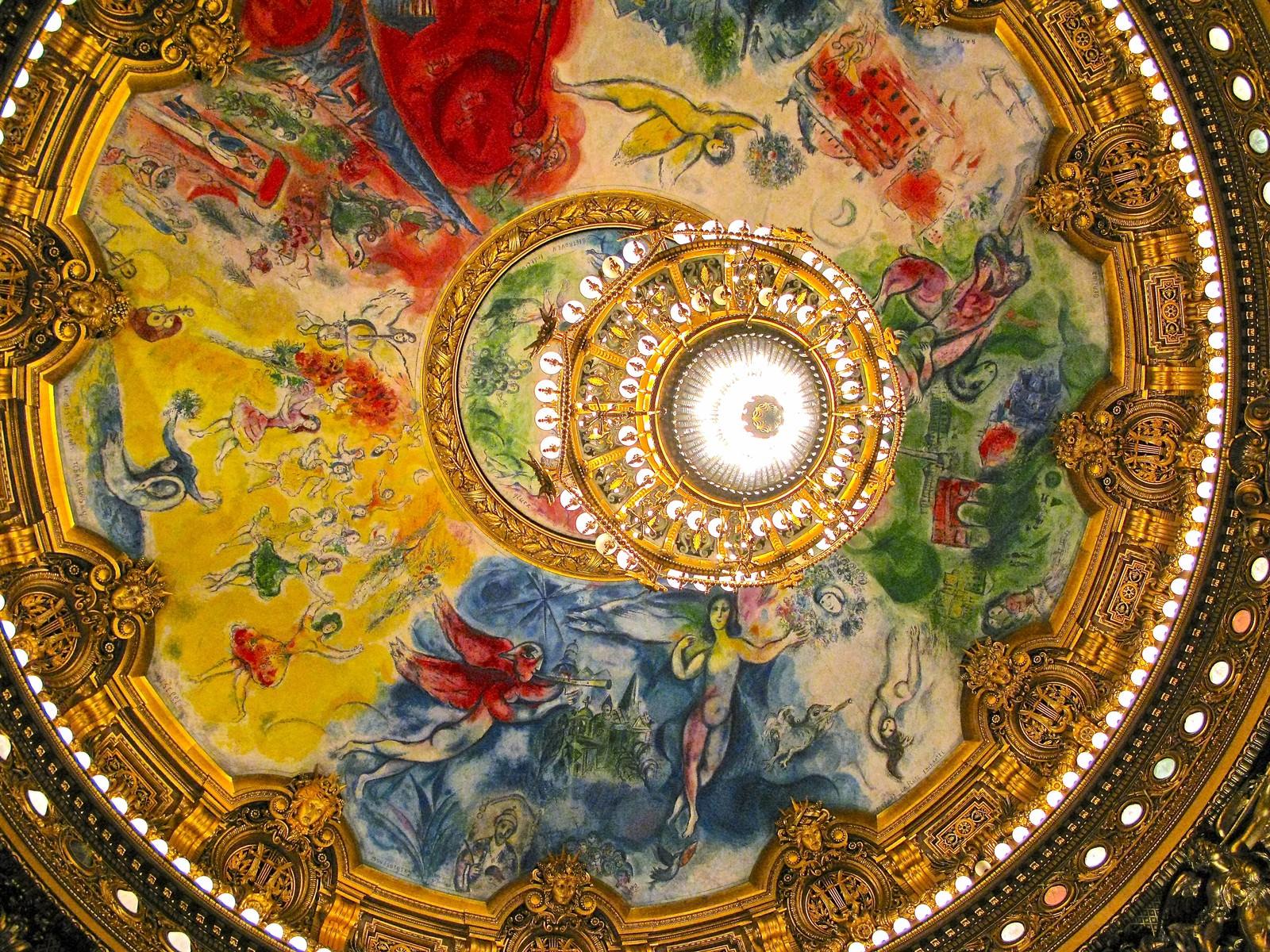 「オペラ・ガルニエの天井画」の写真