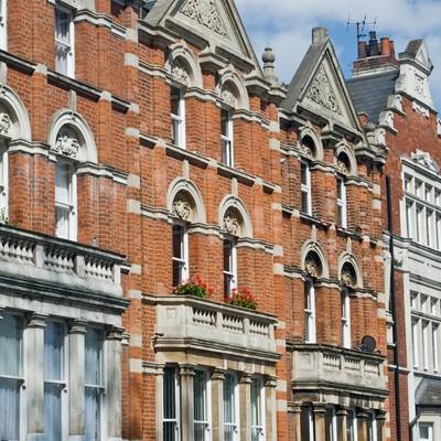 「ハムステッドの町並み」の写真素材