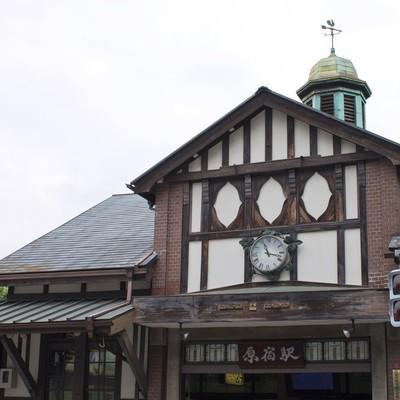 「原宿の駅」の写真素材