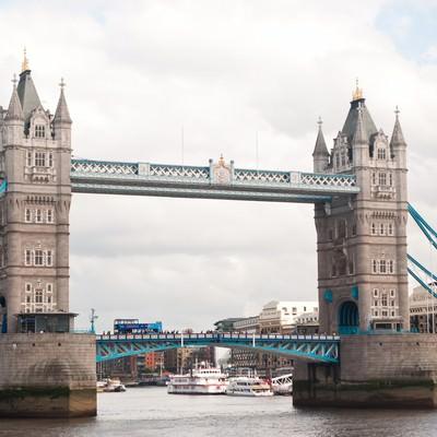 「タワーブリッジ」の写真素材