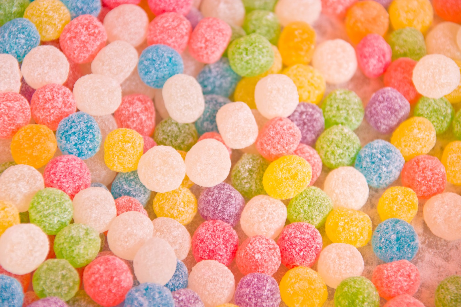「カラフルな金平糖」の写真