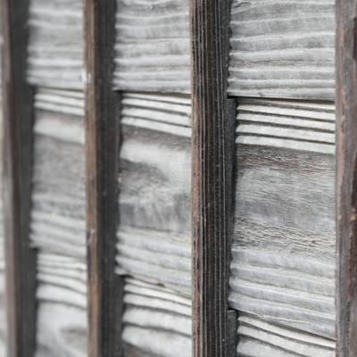「木の塀」の写真素材