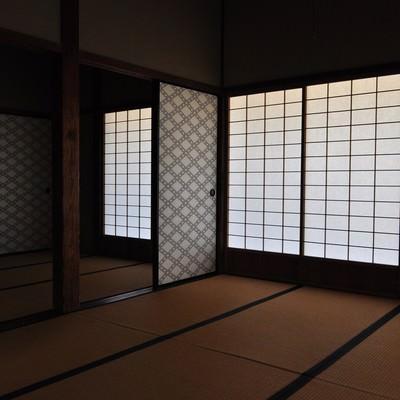 「日本家屋の和室」の写真素材