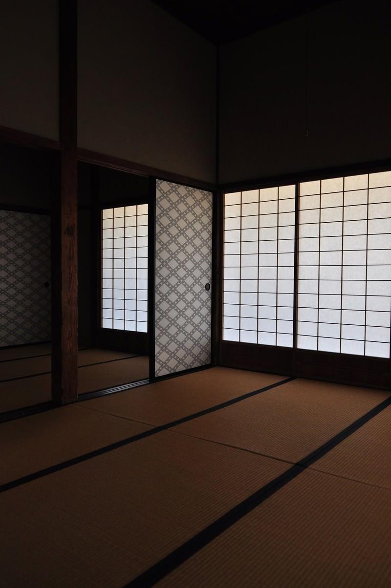 「日本家屋の和室」の写真