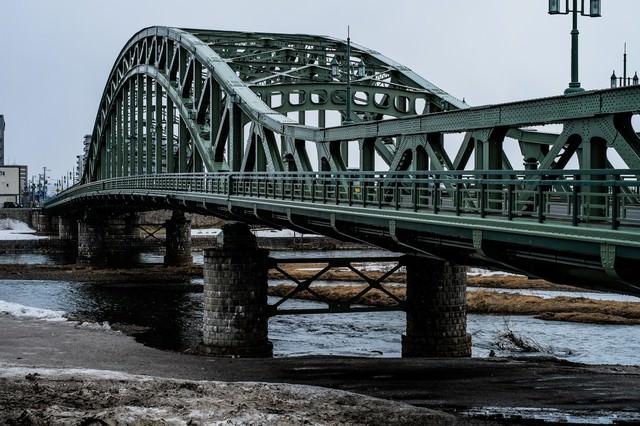 北海道の旭橋の写真