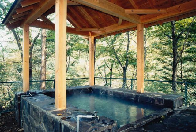 旧川原湯温泉「聖天様露天風呂」