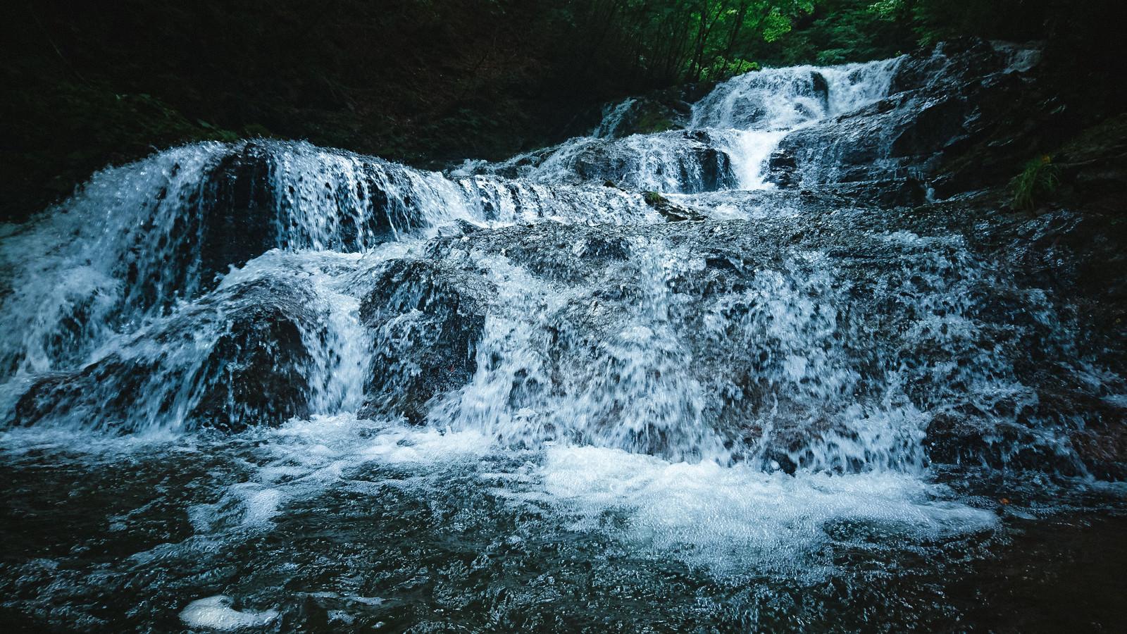 「長野原町「魚止めの滝」」の写真