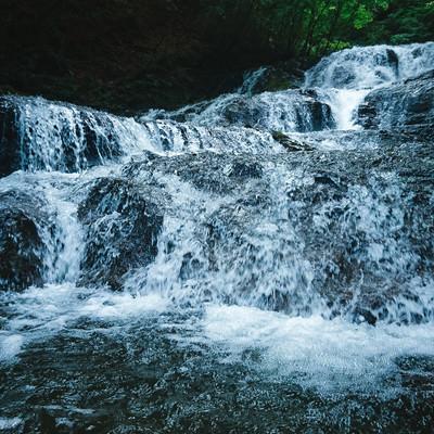 長野原町「魚止めの滝」の写真