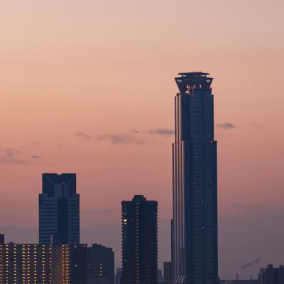 「朝日を浴びるWTCタワー」の写真素材