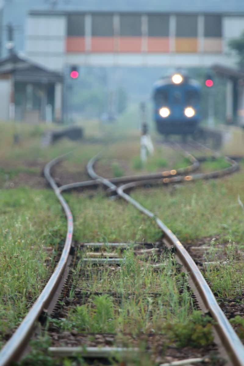 「旅情感漂うローカル列車 | 写真の無料素材・フリー素材 - ぱくたそ」の写真