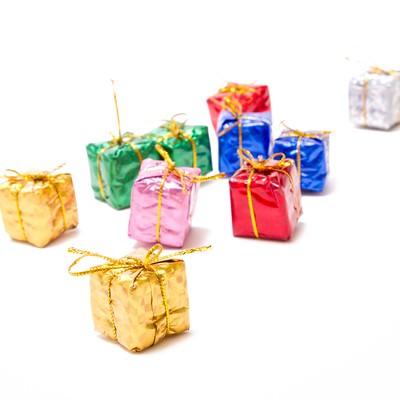ギフト・プレゼントボックスの写真