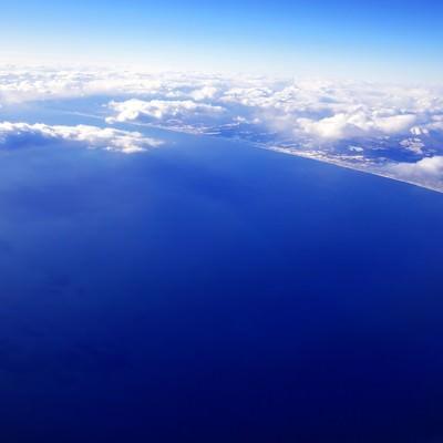 「空からの眺め」の写真素材
