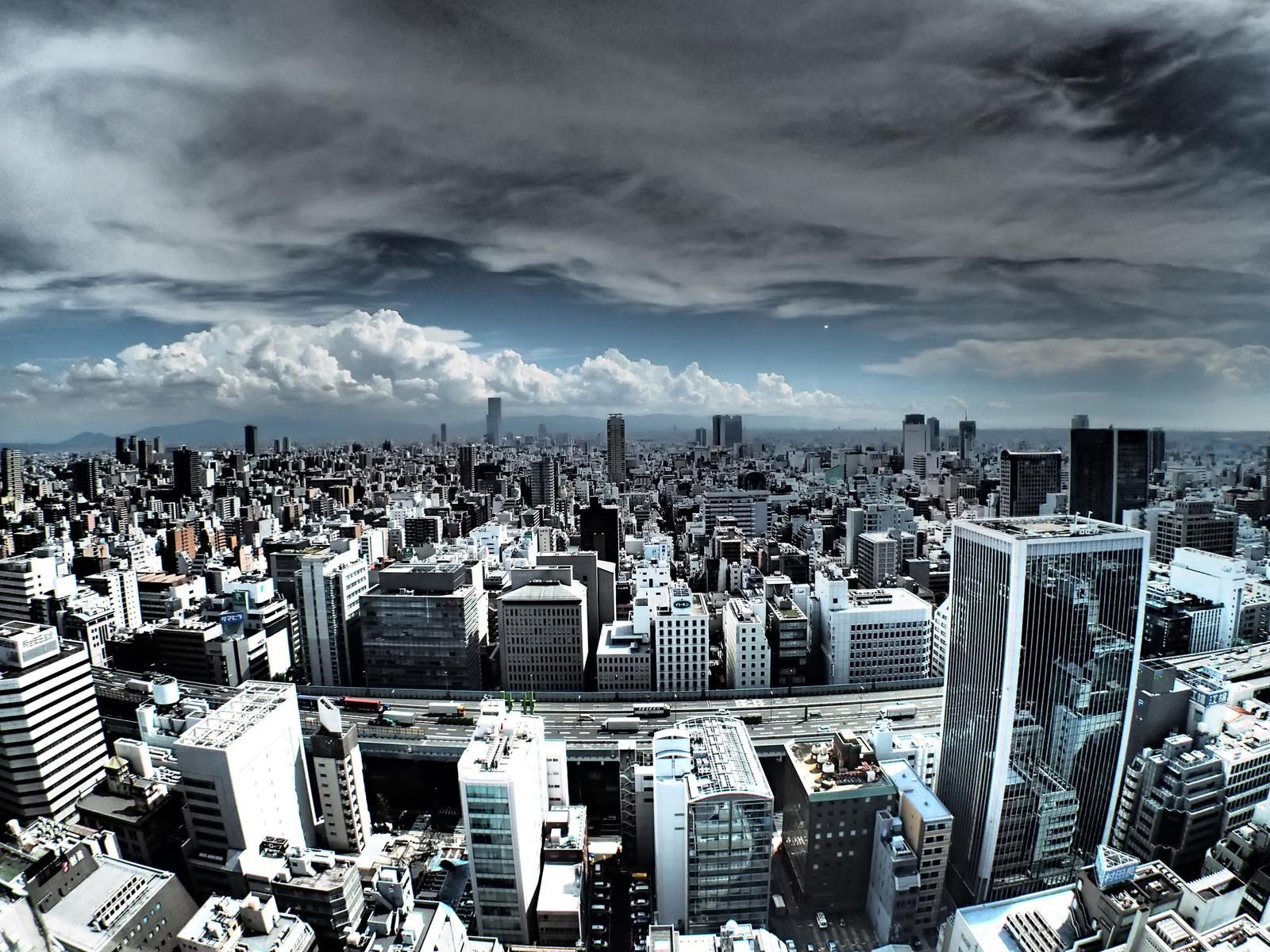 「都会の眺め」の写真