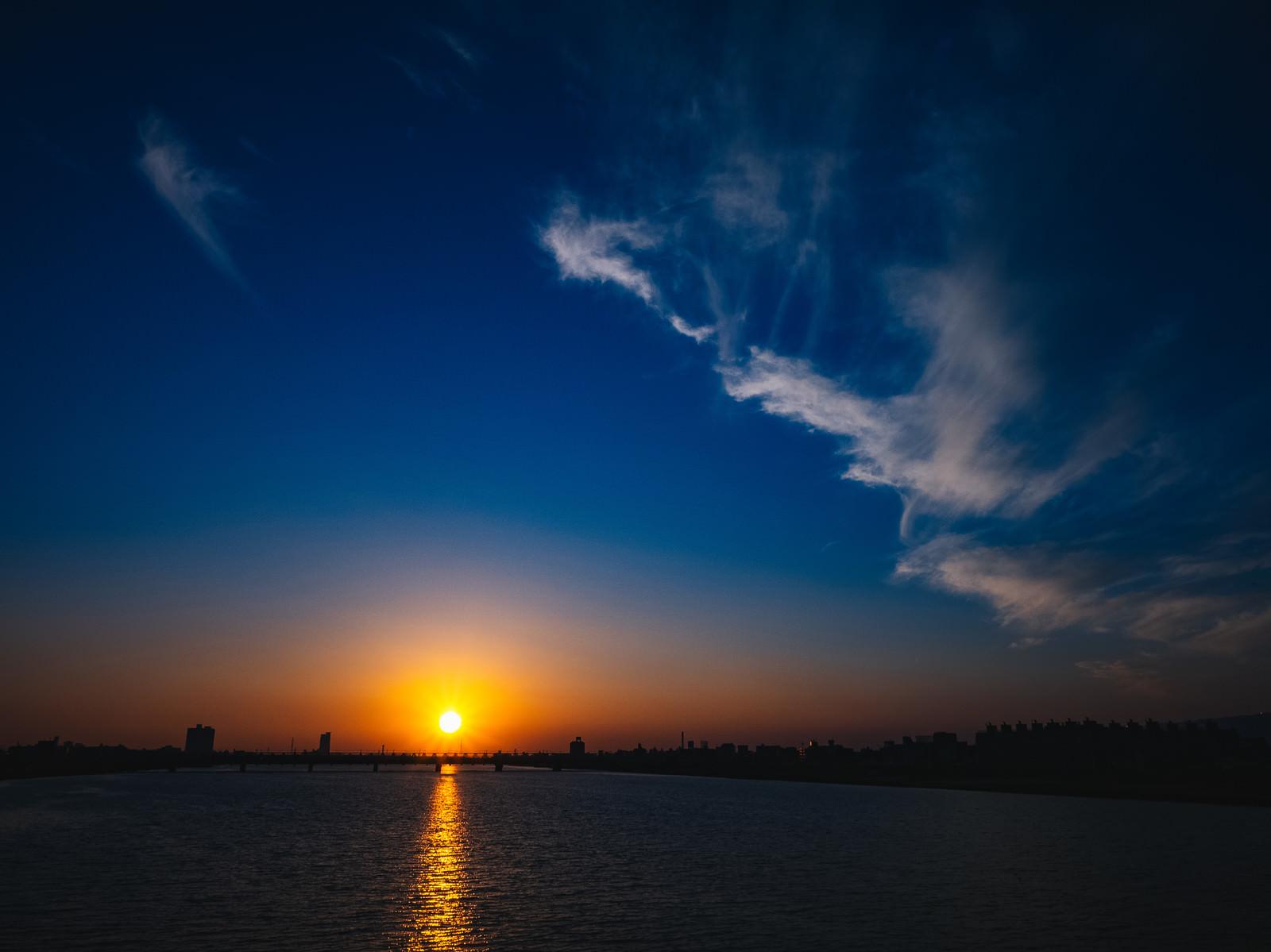 「日が暮れる」の写真